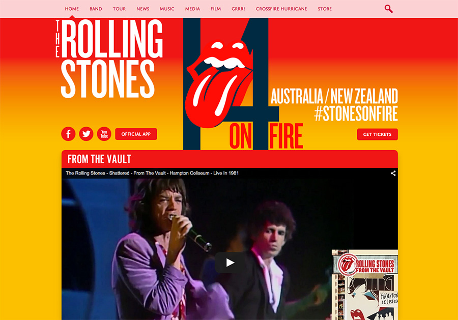 rolling stones wordpress