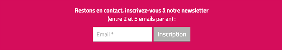 Newsletter indicateur de performance
