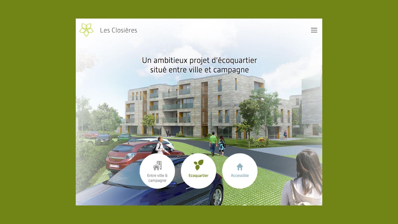 Les Closières est un projet immobilier d'écoquartier