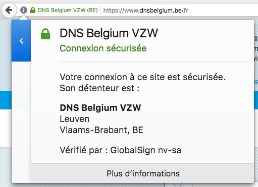 Certificat SSL EV
