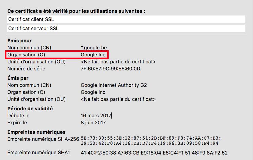 Certificat SSL DV & OV