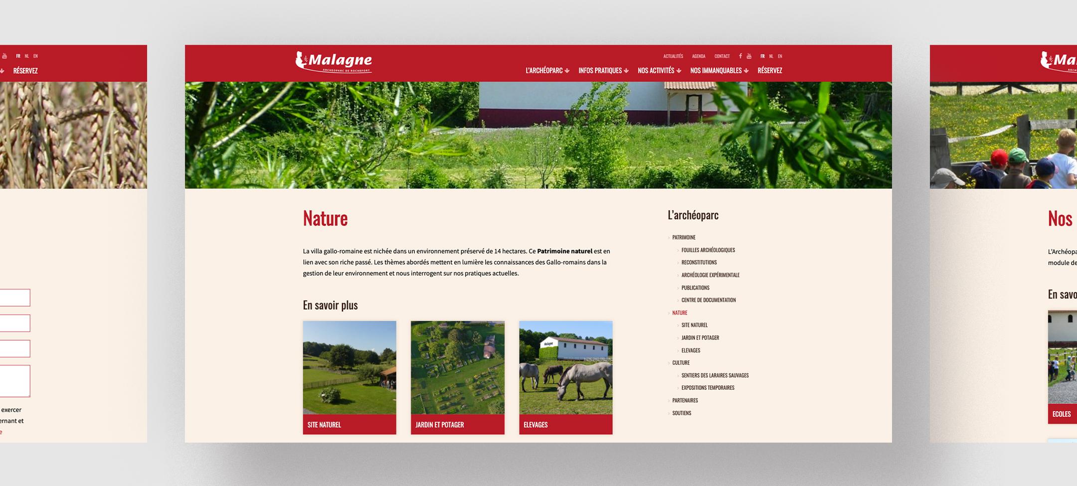Un design web au goût du jour