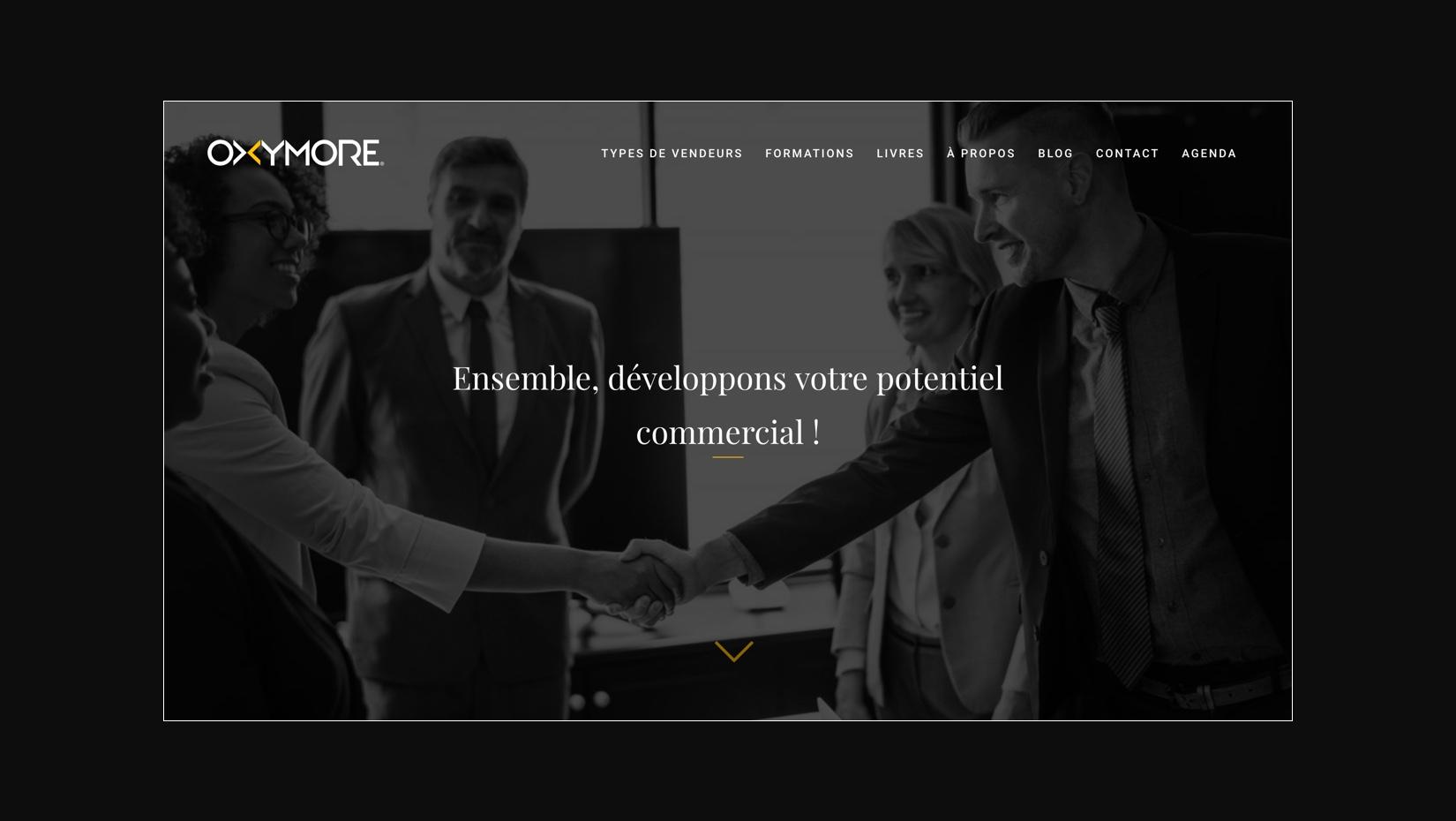 Création du site internet Oxymore